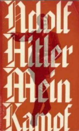 Book cover of Adolf Hitler's <em>Mein Kampf</em>