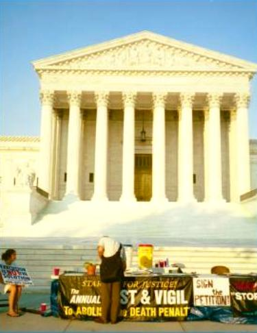 Anti-death penalty fast and vigil at U.S. Supreme Court